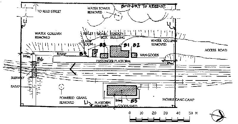creswick railway station plan