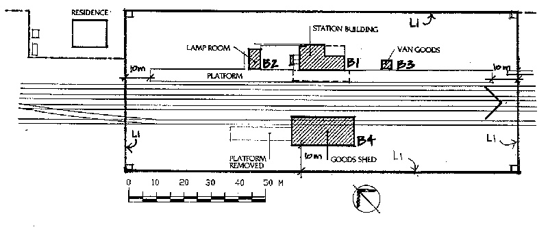dunolly railway station plan