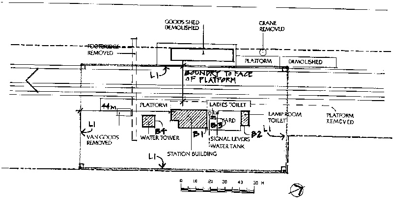 elmore railway station plan