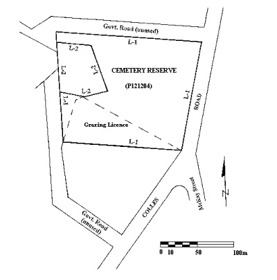 pennyweight flat cemetery colles road castlemaine plan