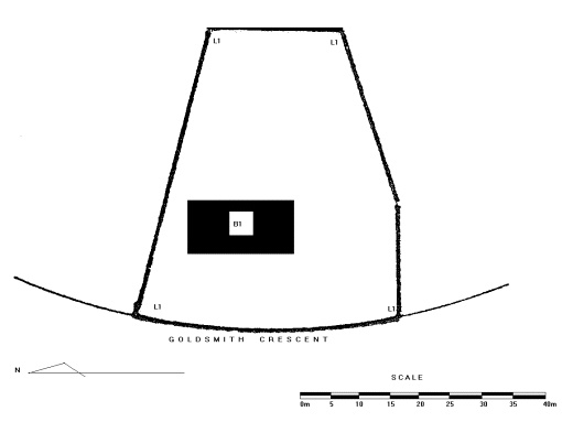 former castlemaine court house goldsmith crescent castlemaine plan