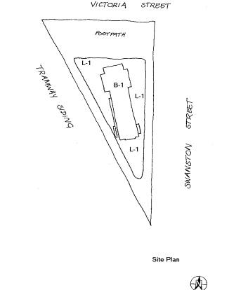 tramway signal cabin waiting shelter plan