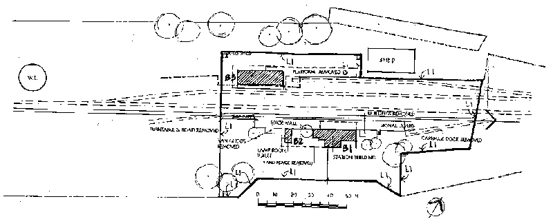 avoca railway station plan