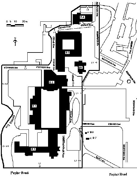 North west hospital former mount royal plan
