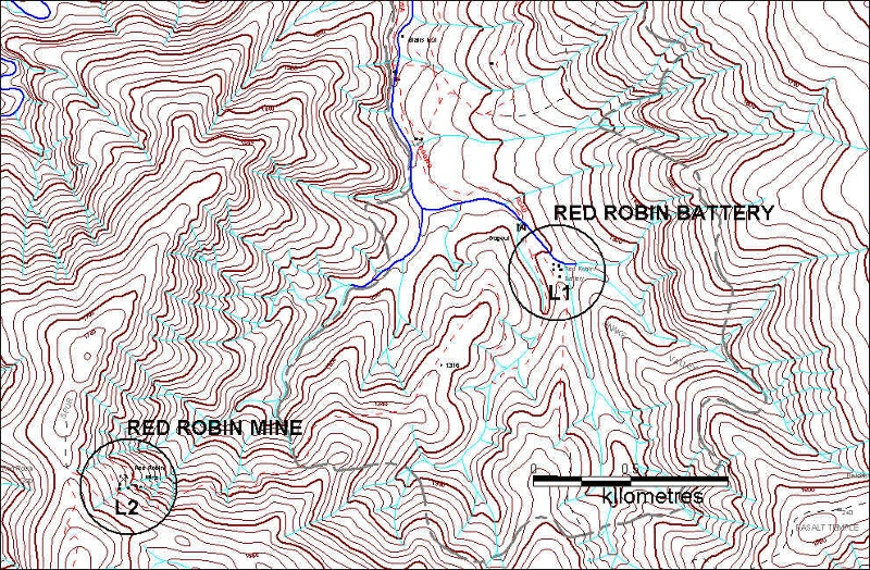red robin mine plan