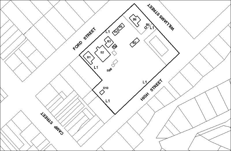 beechworth justice precinct plan