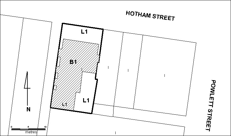 157 hotham street h61 extent of registration july 2000