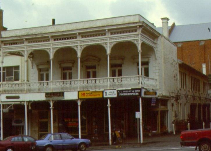 1 unicorn hotel ballarat front&lane elevation