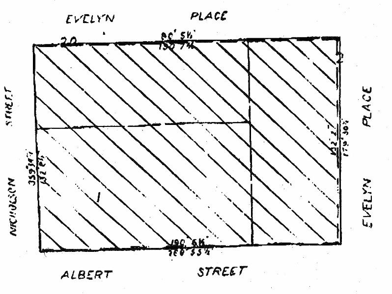 ici house nicholson street east Melbourne plan