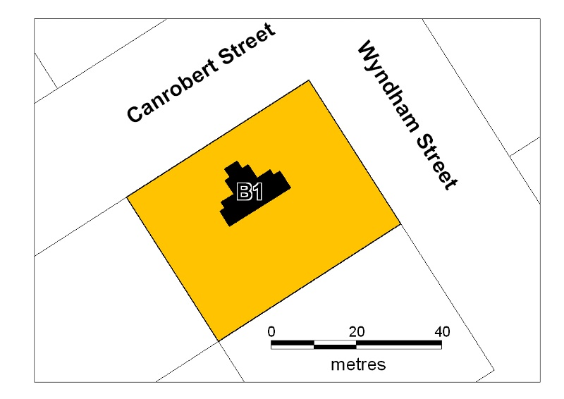 newstead courthouse plan
