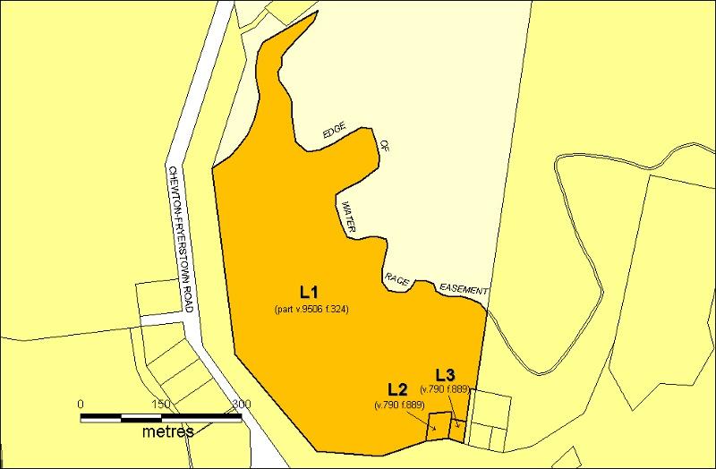 herons reef plan
