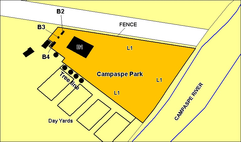 campaspe park extent january 2001