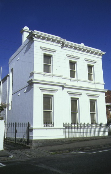 1 town house gipps street east melbourne front view