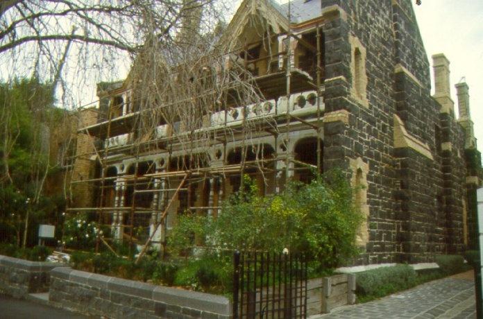 157 hotham street verandah restoration