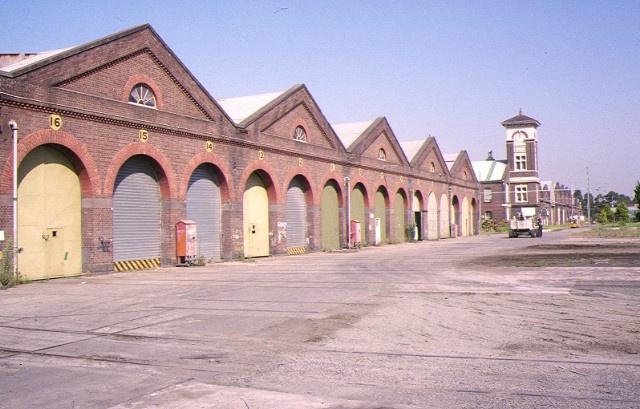 1 former railway workshops champion road newport east block of workshops feb1994