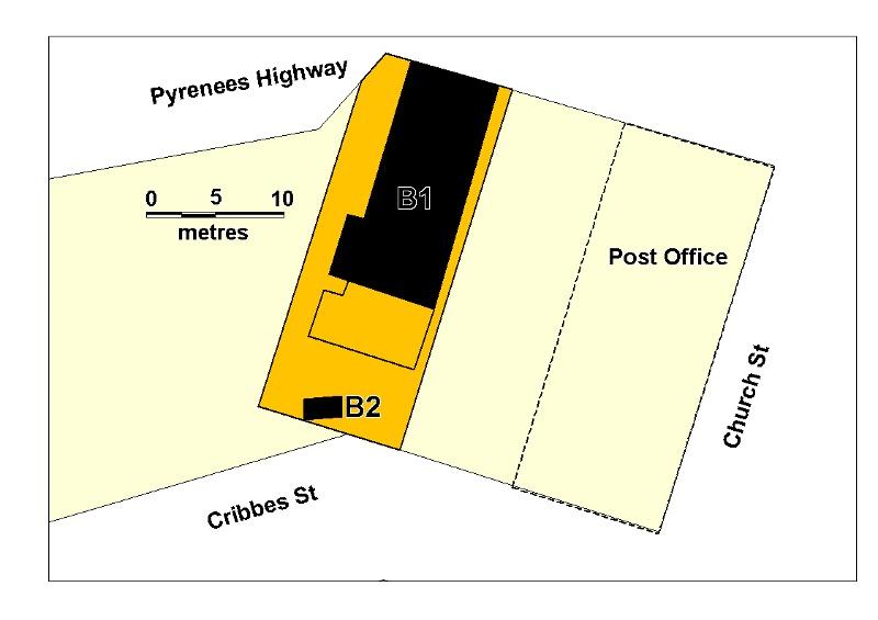 chewton town hall plan
