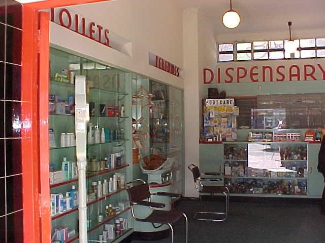 1 callanans chemist entrance interior june01