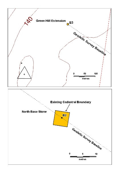 north base stone green hill extension marker plan
