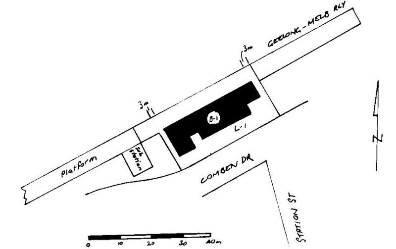 werribee railway station plan