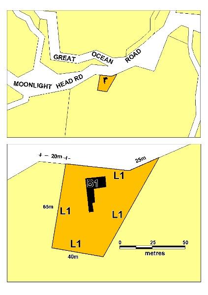 former wattle hill hotel lavers hill plan