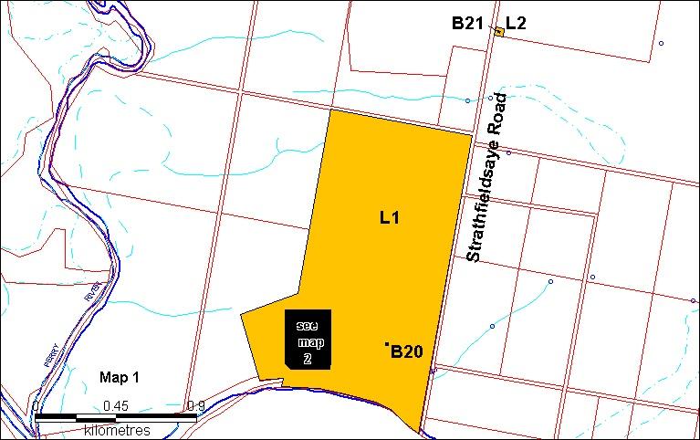 strathfieldsaye extent land