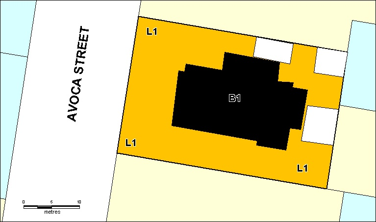 richmond house h206 extent july 2001