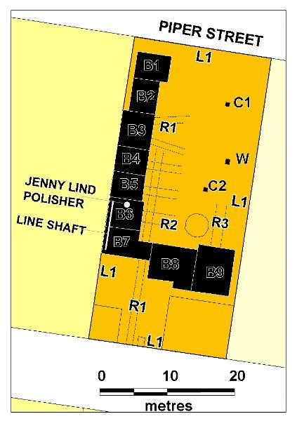 H01965 stone masons yard plan