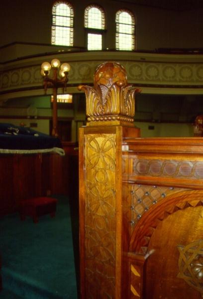 H01968 stkilda synagogue detail bimah