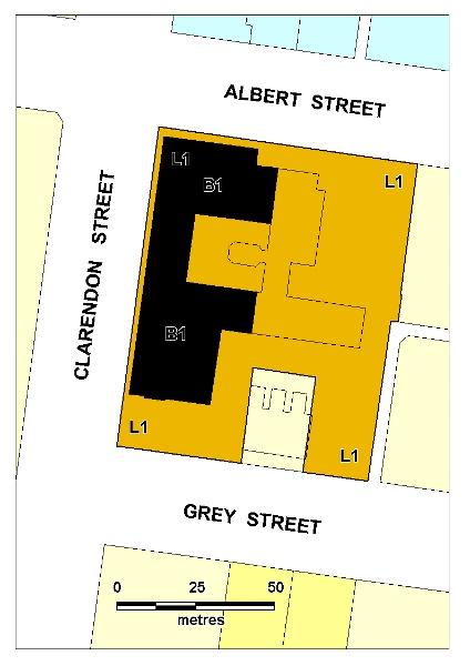 Freemasons hospital plan Diagram HER/2001/001321