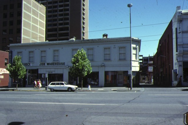 H00435 jobs warehouse bourke street melbourne croseley's building jan1979