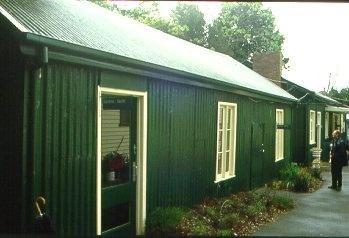 H01459 h1459 rbg prefab iron house in nursery oct 2001