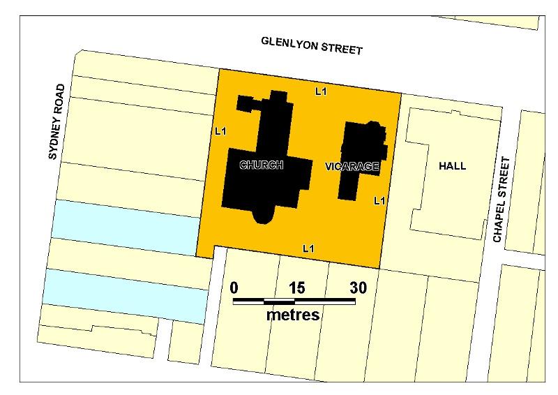 H00129 christ church brunswick plan