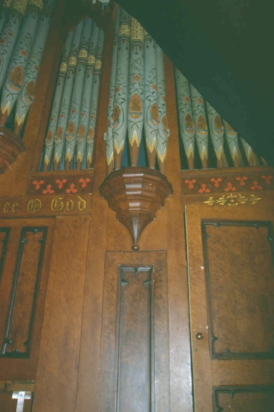 H01989 former congreg church kyneton organ
