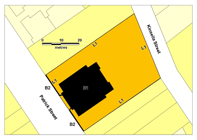 H01997 stawell courthouse plan