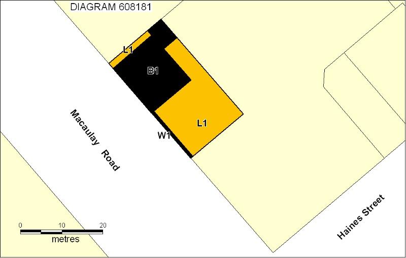h01810 melbourne omnibus building plan