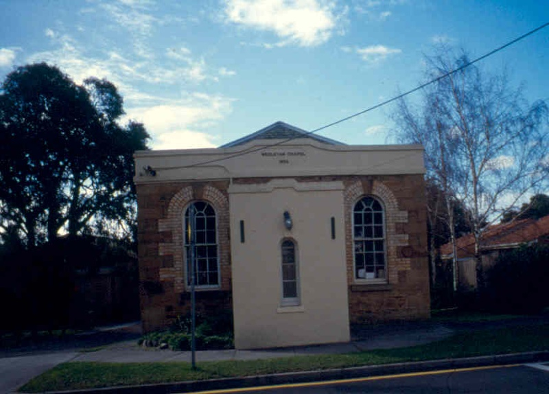 H02010 former weslyan chapel box hill front