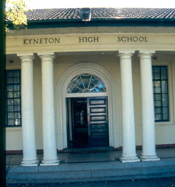 H01999 kyneton technical and high school entry