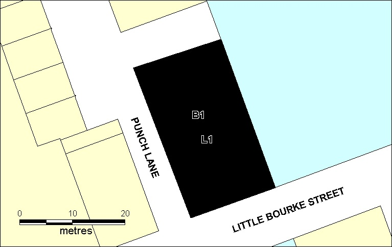 H02028 former angliss stables little bourke st melbourne extent dec 2002 h2028