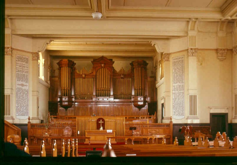 h02034 uniting church auburn interior and organ