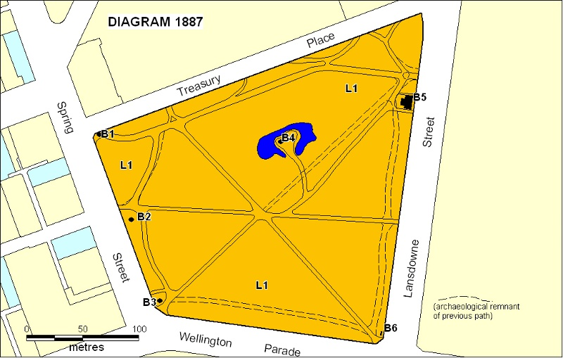 h01887 treasury gardens plan