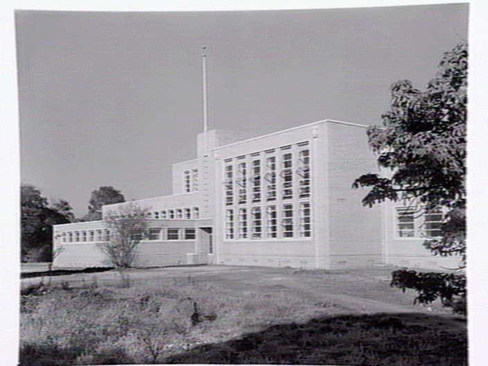 h02052 admin building 1949 slv