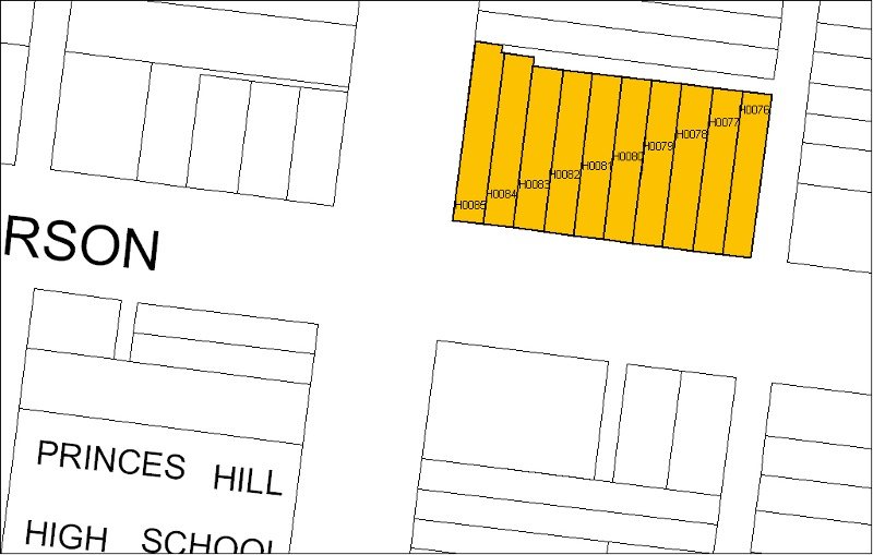 h00085 terrace 100-118 paterson st carlton north plan