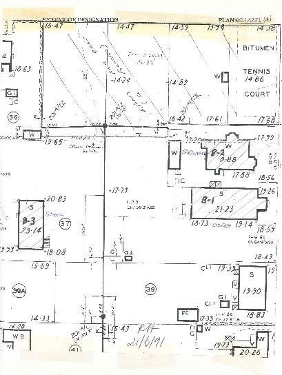 h00884 former wesleyan church parsonage common school james street port fairy plan a