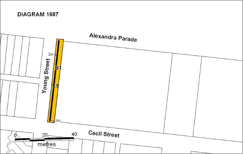h01687 fitzroy pool wall plan