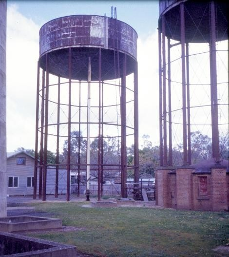 benalla water supply depot benalla steel tank she project 2003