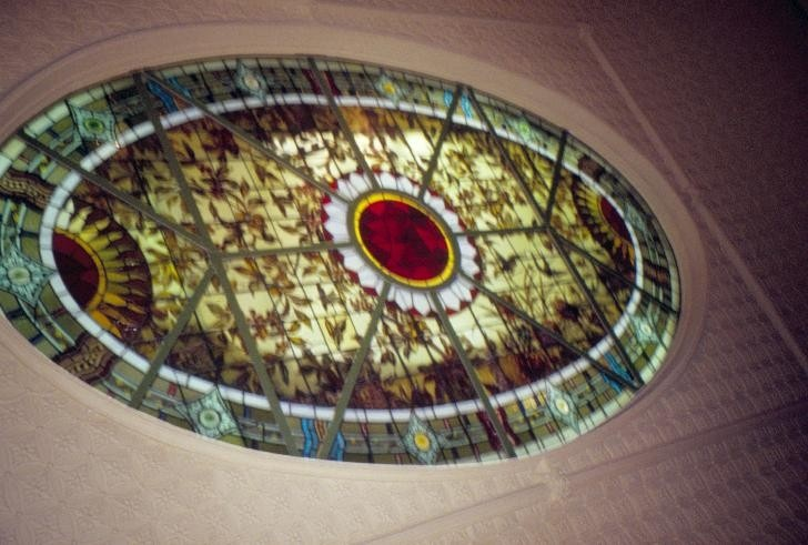bundoora homestead snake gully drive bundoora stainedglass light well she project 2003