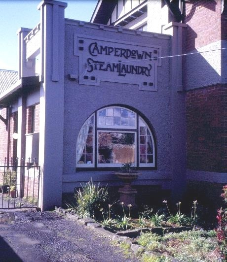 camperdown steam laundry paton street camperdown front sign she project 2003