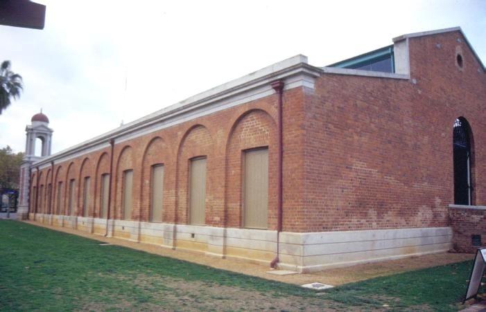 castlemaine market building mostyn street castlemaine side elevation she project 2003