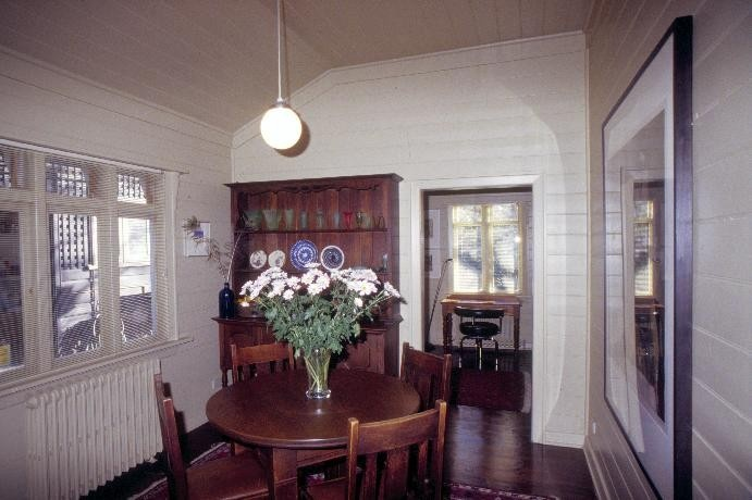 chadwick house the eyrie eaglemont breakfast room she project 2003