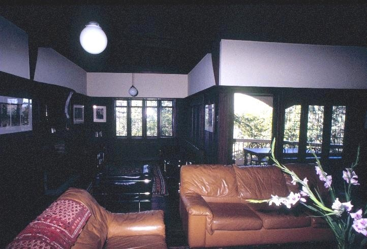 chadwick house the eyrie eaglemont sitting room she project 2003